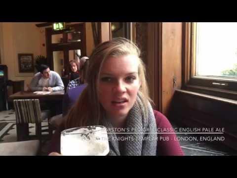 The Knights Templar Pub in London, England - Jennings Cumberland & Marston's Pedigree Cask Ales