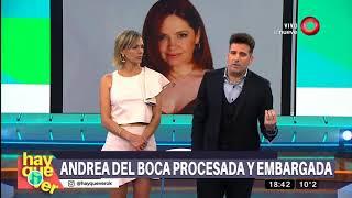 Detalles Del Escándalo Millonario De Andrea Del Boca
