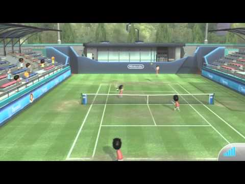 Wii Sports Club ONLINE - Tennis