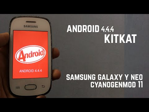 How To Install Kitkat 4.4.4 On Your Galaxy Y Neo