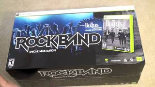 The Beatles: Rockband Unboxing