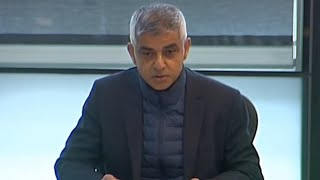 video: Sadiq Khan lives up to 'Mr Misery' moniker with cold approach to London's new restrictions
