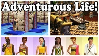 Adventurous Life from The Sims 3 Store!