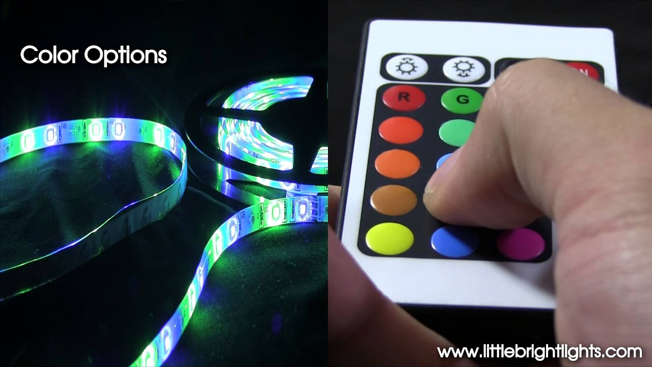 Led Flexible Light Strip 16 Ft 300 Leds Multi Function