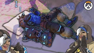 OVERWATCH ► FUNNIES, FAILS & CRAZY MOMENTS #68