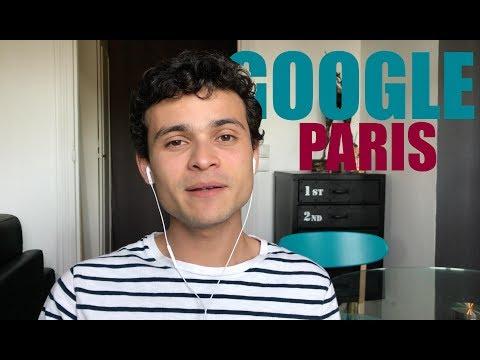 Minha visita a Google Paris
