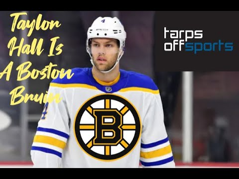Taylor Hall Is A Boston Bruin