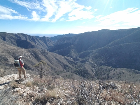 Guadalupe Mountains National Park - Mescalero to Dog Canyon