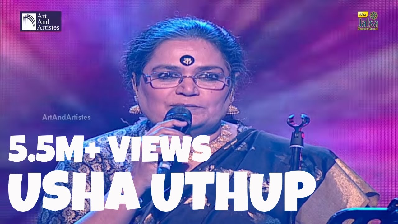 Usha Uthup - Punjabi Folk Song - Kali Teri Guth - YouTube
