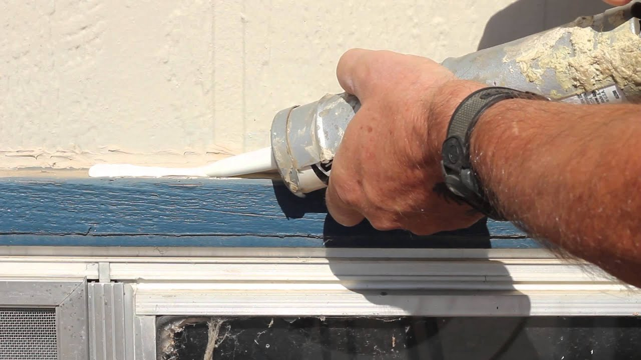 Best Caulk For Trim How To Caulk Window Trim Woodworking Tips Youtube