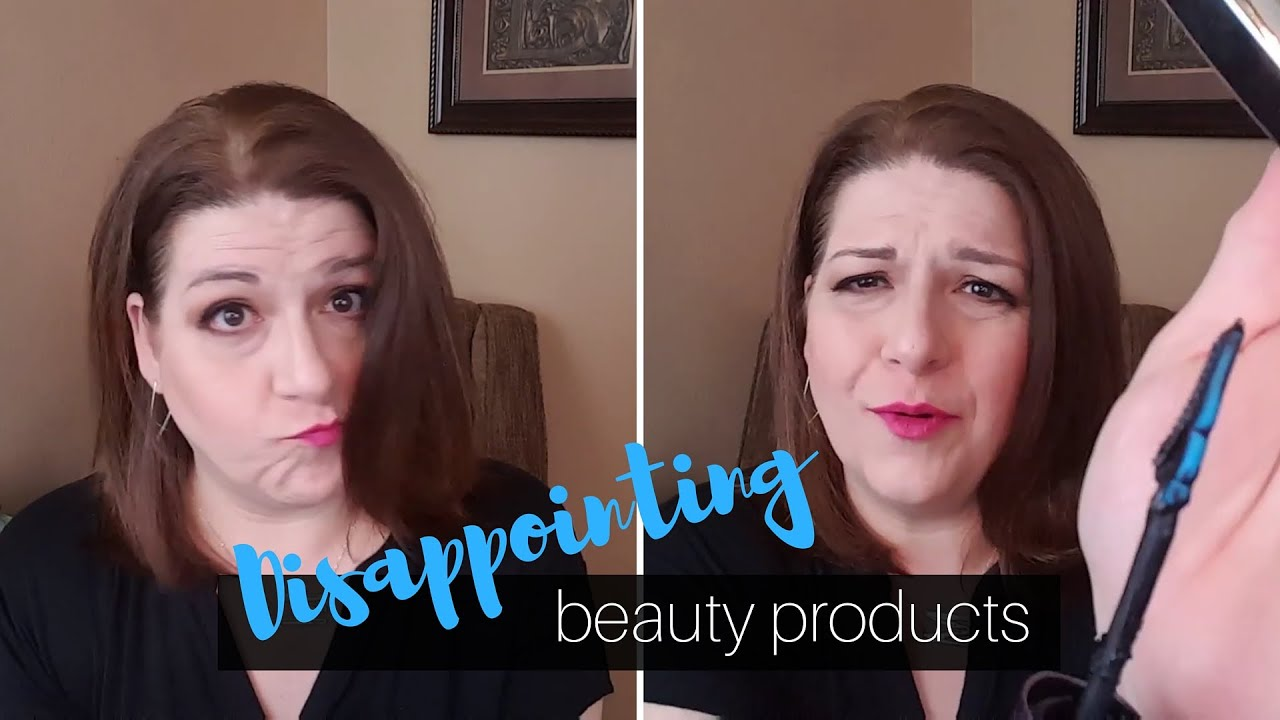 af166561a04 Disappointing Beauty Products - Drugstore & High End - YouTube