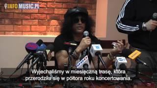 SLASH - konferencja prasowa (tłumaczenie)
