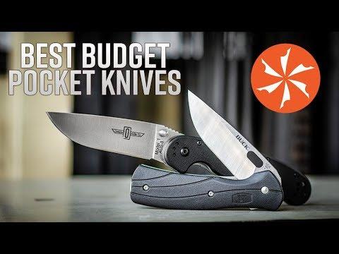 Best Budget Pocket Knives Under $30 Available At KnifeCenter.com