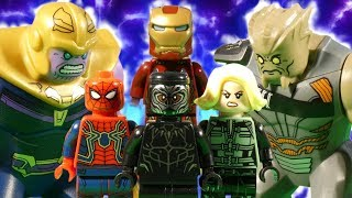 LEGO AVENGERS INFINITY WAR PART 15 - THE ULTIMATE SHOWDOWN - MARVEL STOP MOTION