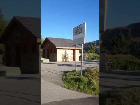 Motorhome aire Alpe d'huez