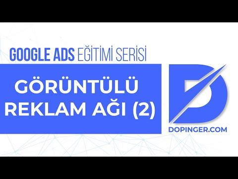 Görüntülü Reklam Ağı Kampanyası Oluşturma Yerleşim Hedefleme & ADS Eğitim Seti ÜCRETSİZ BEDAVA