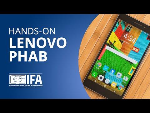 É um tablet? É um smartphone? Não, é o Lenovo PHAB! [Hands-on | IFA 2015]