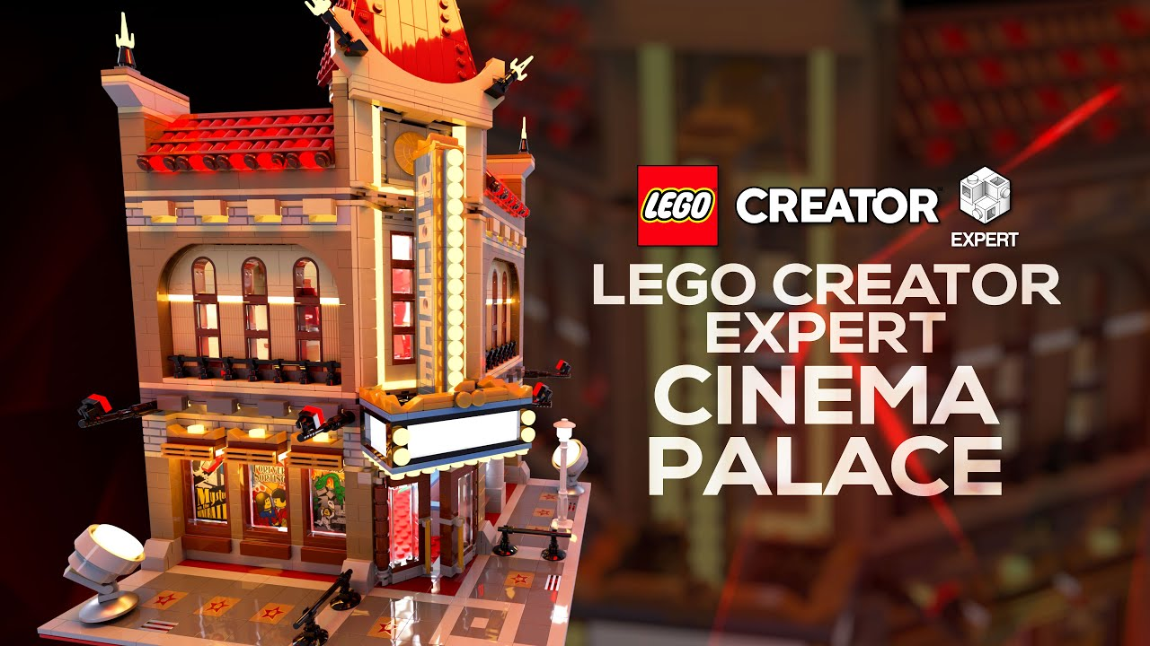 #Lego Creator Expert - Palace Cinema (10232) Digital Speed Build 4K