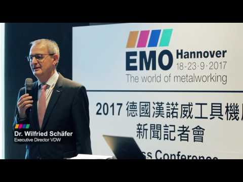 EMO Hannover 2017 WORLD TOUR - Press Conference Taipei