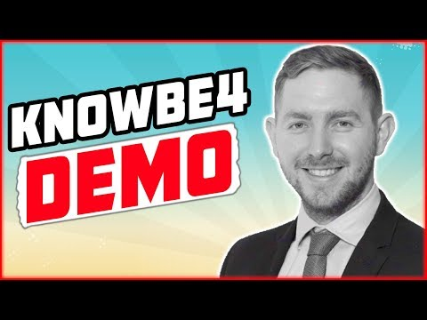 KnowBe4 Demonstration - Email phishing simulator & cyber