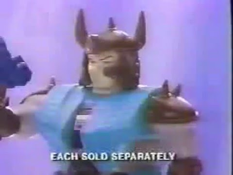 Transformers G1 Classic Pretenders Commercial #2