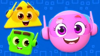 Shapes Song | Learn Shapes For Kids | Nursery Rhymes and Babies Song  by The Supremes
