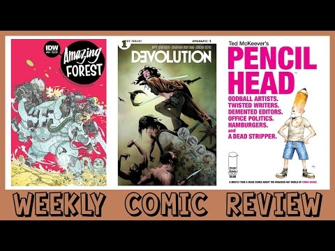 WEEKLY COMIC REVIEW - Amazing Forest #1 Pencil Head #1 Devolution #1