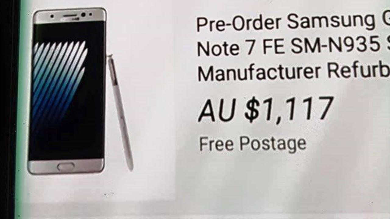 Samsung Galaxy Note 7 tân trang sẽ có giá 19 triệu đồng | Quên Note FE đi | 7R không phải để bán