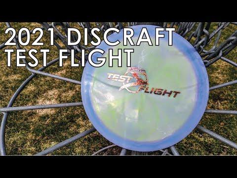 Discraft Test Flight 2021 - Scorch
