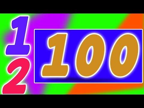 El número canción 1-100 | Compilación para niños | video educativo | Aprende números | Number Song