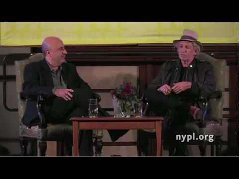 KEITH RICHARDS NY Public Library (Part 1)