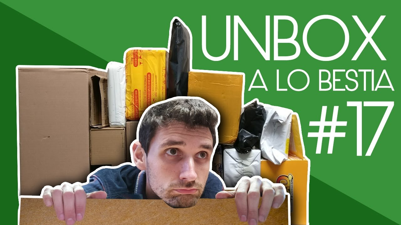 Unboxing a lo Bestia #17 Zone Aliexpress II - Teclast Tbook 16 Power y 13 paquetes más