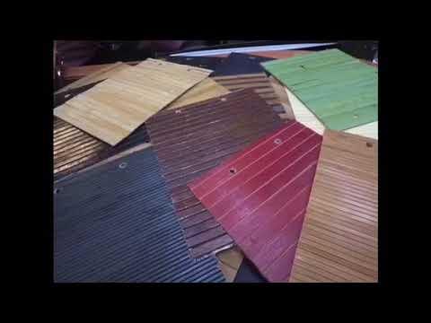 Бамбуковые обои (полотно). Обзор