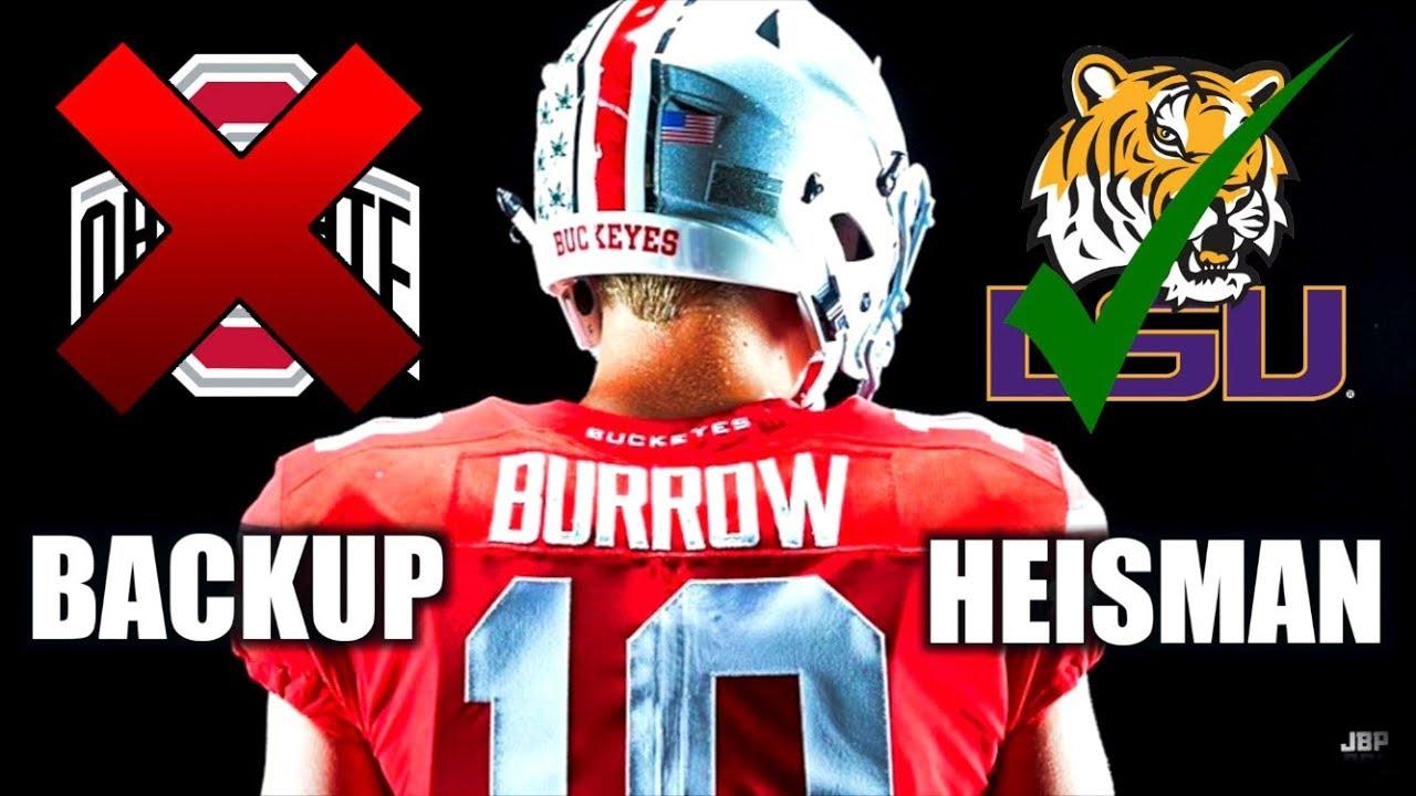 From BACKUP to HEISMAN    Joe Burrow Ohio State Highlights ᴴᴰ