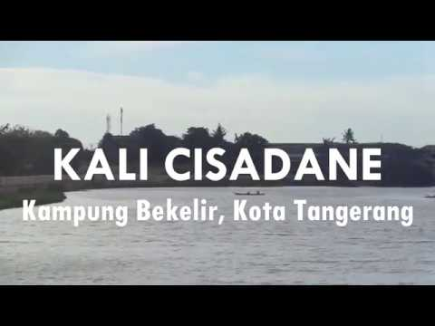 Kali Cisadane di Kampung Bekelir, Kota Tangerang