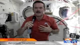Astronauta revela curiosos detalles de la cotidianidad en la Estación Espacial Internacional