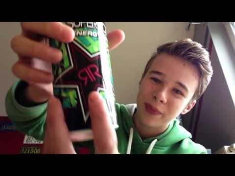 Rockstar Energy SuperSours Green Apple Review