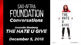 Conversations with Amandla Stenberg of THE HATE U GIVE