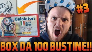 APRO IL BOX DA 100 BUSTINE!! TROVO DI TUTTO E FINALMENTE INTER!! - ALBUM CALCIATORI PANINI 2017/2018