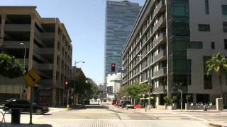 Be a passenger in my car - see downtown Los Angeles 3/5 HD Canon VIXIA-HV30