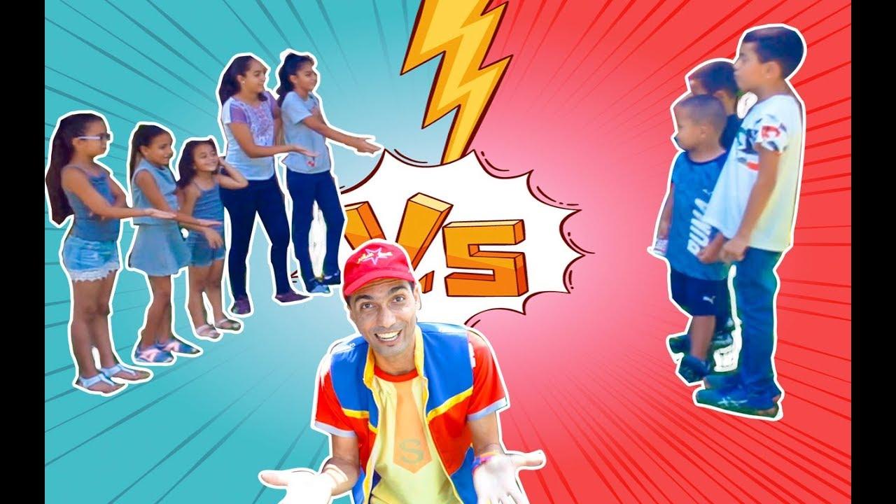 عمو صابر لعبة بنات واولاد - amo saber and boys girls game