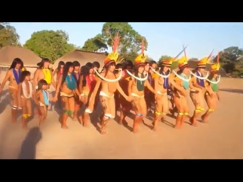 Full Documentary BBC History ISOLATED Amazon Tribes Xingu Indians