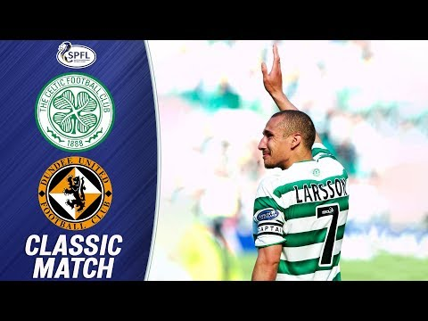 Henrik Larsson Bids Farewell to Celtic | Celtic 2-1 Dundee Utd (16/05/04) | SPFL Classics