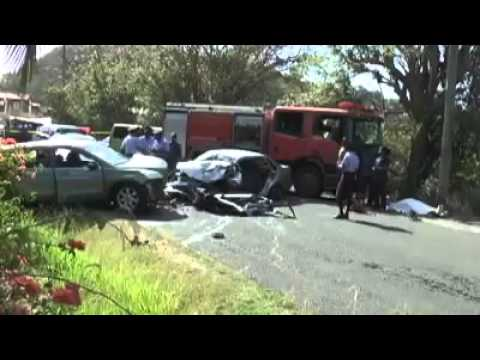 Don Jacobs Honda >> fatal accident in Grenada - YouTube