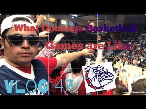 What Gonzaga University Basketball Games Are Like!! - Vlog 47