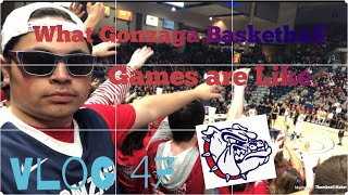 What Gonzaga University Basketball Games Are Like!! - Vlog 47