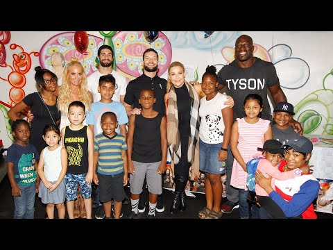 WWE Superstars bring smiles to The Brooklyn Hospital Center and The Children