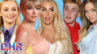 Tana RESPONDS To Jake Caught With Ex Erika! Fans REACT To Sophie Turner Wearing Taylor's Gown! (DHR)