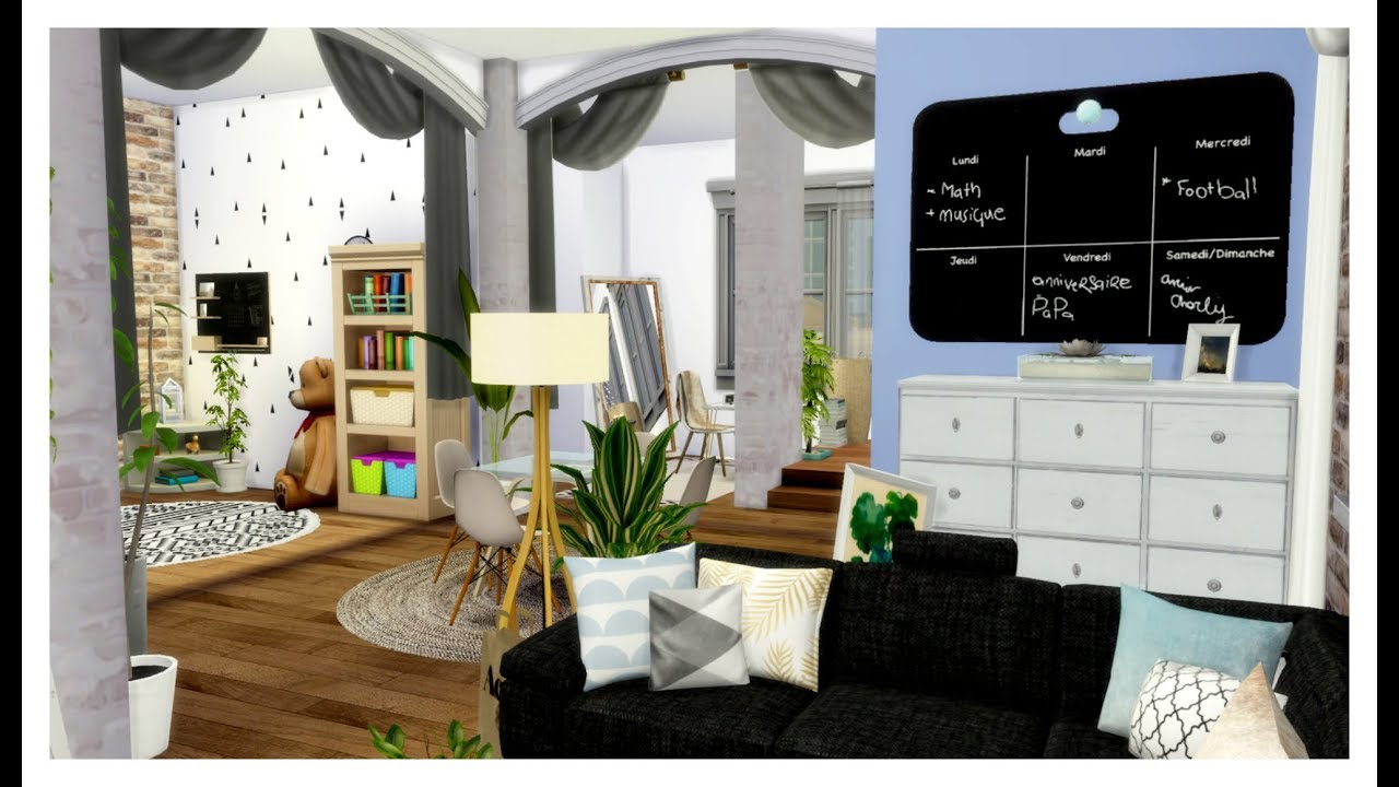 The Sims 4 House Build Single Mother Studio Apartment
