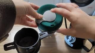 종이필터 필요없는 친환경 휴대용 커피메이커